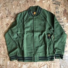 UNDEFEATED RINGS VARSITY JACKET OLIVE SIZE LARGE NEW WITH TAGS UNDFTD