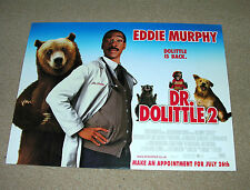 Dr Doolittle 2 : UK Mini Quad Poster