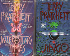 Partial Set Series - Lot of 38 Discworld books by Terry Pratchett (Fantasy)