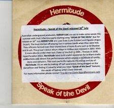(DI538) Hermitude, Speak of the Devil - 2012 DJ CD