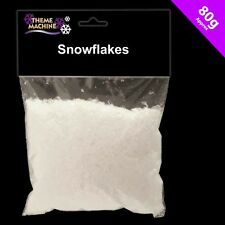 CHRISTMAS SNOWFLAKES ARTIFICIAL FAKE SNOW 80g DECORATION DISPLAY TRAIL 54681
