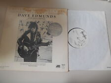 LP Rock Dave Edmunds - College Radio Network (2 Song+ Interview) ATLANTIC Promo