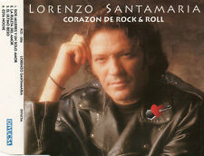 "LORENZO SANTAMARIA ""CORAZON DE ROCK & ROLL"" RARE SPANISH PROMO CD MAXI / Z-66"
