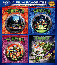 4 Film Favorites: Teenage Mutant Ninja Turtles Collection [Blu-ray] Widescreen,