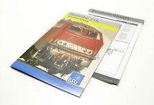 Beipackzettel ET-Liste + Anleitung für ESU 32021 DB Diesellok BR 215 Spur H0