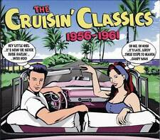 THE CRUISIN' CLASSICS 1956-1961 - 75 ORIGINAL HITS (NEW SEALED 3CD)  Various