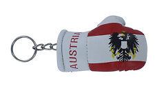 Porte clés Drapeau AUTRICHE AIGLE  Mini gant de boxe clé clefs voiture moto NEUF