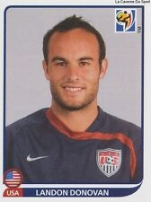 N°218 LANDON DONOVAN # USA STICKER PANINI WORLD CUP SOUTH AFRICA 2010