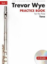 Trevor Wye Practice Book For The Flute TONE Learn to Play Music TUTOR 1 &CD