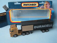 Matchbox Convoy CY-25 Daf Box Truck Duracell Delivery Toy Model Boxed