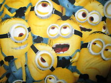 MINION PACKED MINIONS DESPICABLE ME COTTON FABRIC BTHY