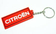 SALE! CITROEN SPORT KEYRING C4 EUROPEAN RALLY CROSS TEAM KEYCHAIN RED