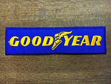GOODYEAR Tires Car Race Racing Logo Patch Iron on Jacket T-shirt Cap Badge