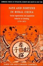 Fate and Fortune in Rural China: Social Organization and Population Be-ExLibrary