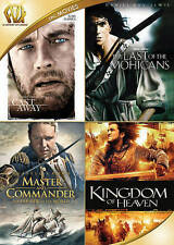 Cast Away / Last of the Mohicans / Master and Commander / Kingdom of Heaven Quad