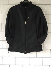 WOMENS VINTAGE RETRO 90'S OLD SCHOOL BLACK NIKE SPHERE PRO JACKET COAT UK 12-14