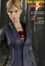 Ready! Hot Toys VGM13 Biohazard Resident Evil Jill Valentine Battle Suit Version