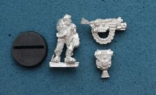 40K SPACE MARINE IMPERIAL GUARD SERVITOR METAL **NEW** (G832B)