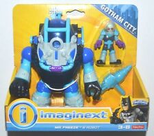 New IMAGINEXT DC SUPER FRIENDS EXCLUSIVE MR FREEZE ROBOT BATMAN VILLAIN Playset