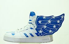 ONLY 1 ON EBAY ADIDAS JEREMY SCOTT WINGS SHOE STARS STRIPES V24619 MEN SIZE  6.5