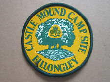 Castle Mound Camp Site Fillongley Girl Guides Cloth Patch Badge