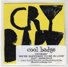 (DL920) Crybaby, We're Supposed to be in Love - 2012 DJ CD