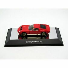 LAMBORGHINI MIURA SV RED WITH OPENINGS AUTOART MODEL 1/43 #54543