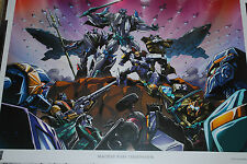 BOTCON 2013 EXCLUSIVE MACHINE WARS : TERMINATION L.E of 375 POSTER