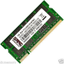 1GB (1x1GB) DDR2 PC2-6400 800MHz Laptop (SODIMM) Memory RAM KIT 200-pin