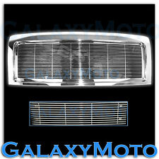 09-14 Ford F150 Upper Chrome Billet Grille+Replacement Shell+Bumper Grille XTL