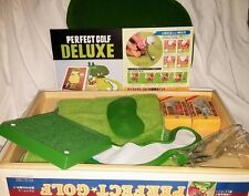Rare Japan Perfect Golf Deluxe 1980's Mechanical Toy Table Game Japanimation NEW