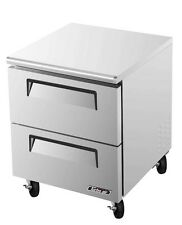 "TURBO AIR 28"" COMMERCIAL 7 CU.FT UNDERCOUNTER COOLER TUR-28SD-D2"