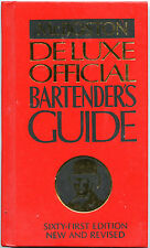 MR BOSTON Deluxe Official BARTENDER'S GUIDE 61st Edition New and Revised