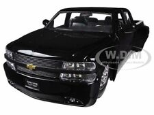 1999 CHEVROLET SILVERADO DOOLEY BLACK 1/24 DIECAST MODEL CAR BY JADA 90145