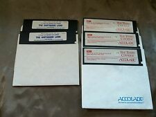 "WOLFENSTEIN 3-D by ""The Software Labs!""  2-5 1/4"" & The Third Courier.. 5 1.25"""