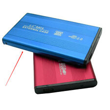 "USB2.0 500GB External Hard Drive Aluminum HDD SATA 2.5 "" Portable Laptop Blue"