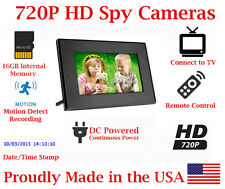 SecureGuard 720p HD Digital Picture Frame Spy Nanny Hidden Camera Covert Camera