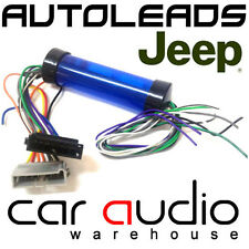 Jeep Wrangler 1997 - 2005 Car Stereo Amplified Amp Bypass Wiring Harness