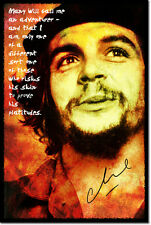 CHE GUEVARA ART PHOTO POSTER GIFT QUOTE MARXISM CUBA