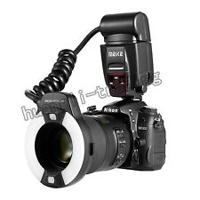 UK Meike MK-14EXT ETTL Macro ring flash AF assist lamp For Canon 70D 7DII 5Ds R