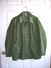 M-1959 M59 Swedish Army Summer Field Uniform Coat w/ Infantry Collar Insignia