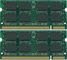 2GB 2x1GB SODIMM PC2-5300 Laptop Memory for Acer Aspire L5100 TESTED