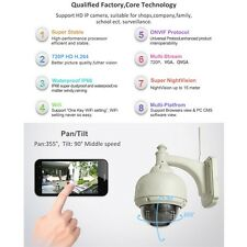 IP Camera Dome IR Night Vision WiFi IR-Cut Outdoor Security Cam LE