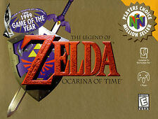 A4 Poster - Legend of Zelda Ocarina of Time (Nintendo 64 N64 Game Picture Art)