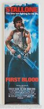 First Blood FRIDGE MAGNET (1.5 x 4.5 inches) insert movie poster rambo stallone