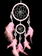 Handmade Dream Catcher with feathers car or wall hanging decoration ornament-14""