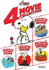 PEANUTS: 4-MOVIE COLLECTION (NEW DVD)