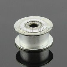 Smooth Idler Pulley With bore 5mm Bearing For width 7mm MXL GT2 T2.5 Timing belt