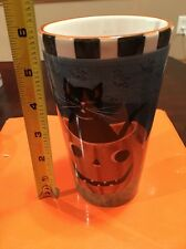 Sakura David Carter Brown PUMPKIN HOLLOW MOON WITCH Tall Latte Mug