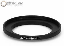37 mm - 46 mm Filter Adapter Step-Up Adapter Filteradapter Step Up 37-46
